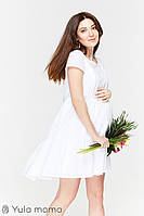 Платье для беременных и кормящих AMY DR-29.072, белое*, фото 1