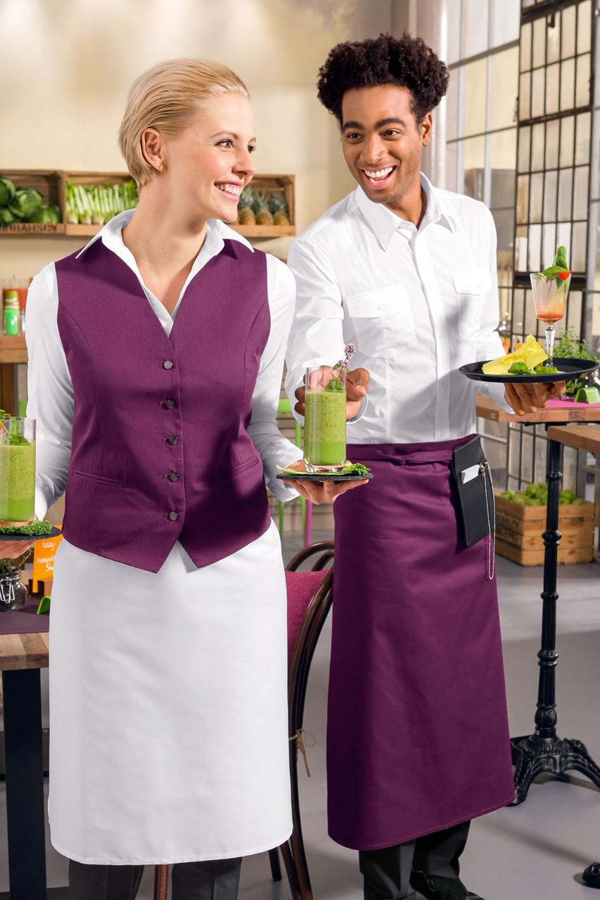 Передник для официанта и бармена TEXSTYLE макси без карманов