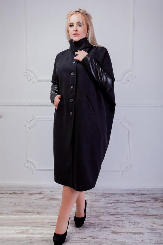 Пальто женское деми много цветов размеры: 42-50,50-54,56-64