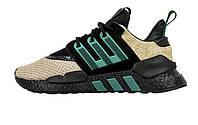 Мужские кроссовки Adidas EQT Support 91/18 Tan Multi Black/Green