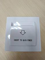 Энергосберегающий карман для гостиниц SEVEN Lock P-7753, фото 3