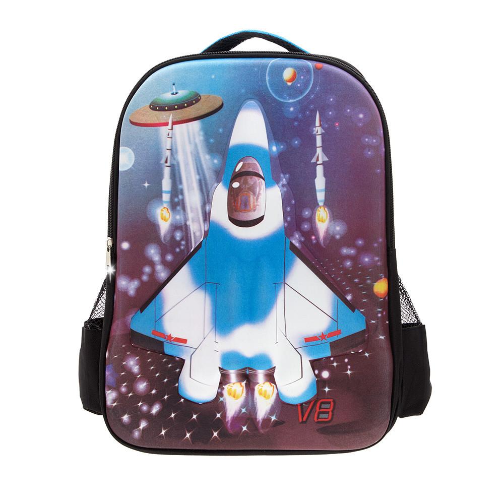 Рюкзак 3D Bag Rocket самолет (цвет микс)