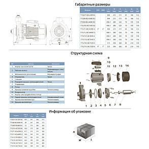 """Насос відцентровий 3.0 кВт Hmax 30м Qmax 800л/хв 2"""" LEO 3.0 (775271), фото 2"""