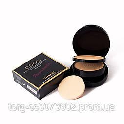 Компактная двойная пудра для лица Chanel Coco pressed powder  CH 1489 (без индивидуальной упаковки)