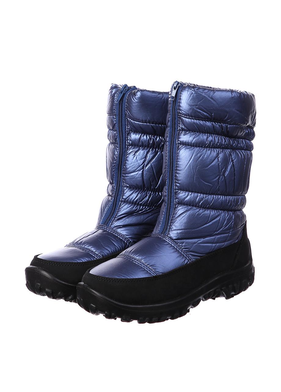 Дутики Tellus W003-PT397BL Синий