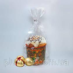 Упаковка полиэтиленовая прозрачная с широким дном для кондитерских изделий 25 см х 35 см (цена за 1 шт)