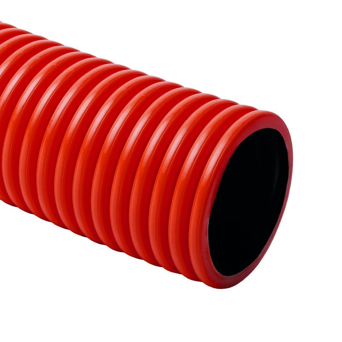 Труба двустенная 90мм Копос Kopoflex KF09090 BA L50 (продается бухтой  по 50 метров)
