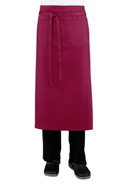 Передник с карманами для официанта и бармена TEXSTYLE ниже колена