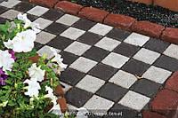 Тротуарная плитка Квадрат 100х100 - белый, фото 1