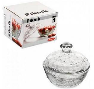 Сахарница с крышкой 123х131 мм Piknik Pasabahce 97556