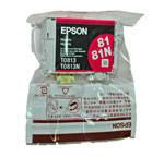 Оригинальный картридж Epson T0813, Magenta