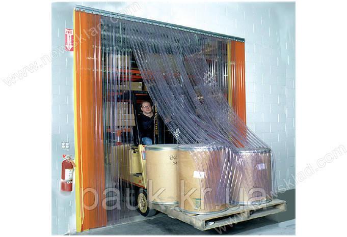 ПВХ-завіси для складських приміщень, пвх-стрічка на склад