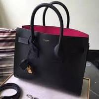 7c8601206f9e Женская кожаная сумка YSL Saint Laurent Classic кожа SAINT LAURENT сумка-тоут  Sac