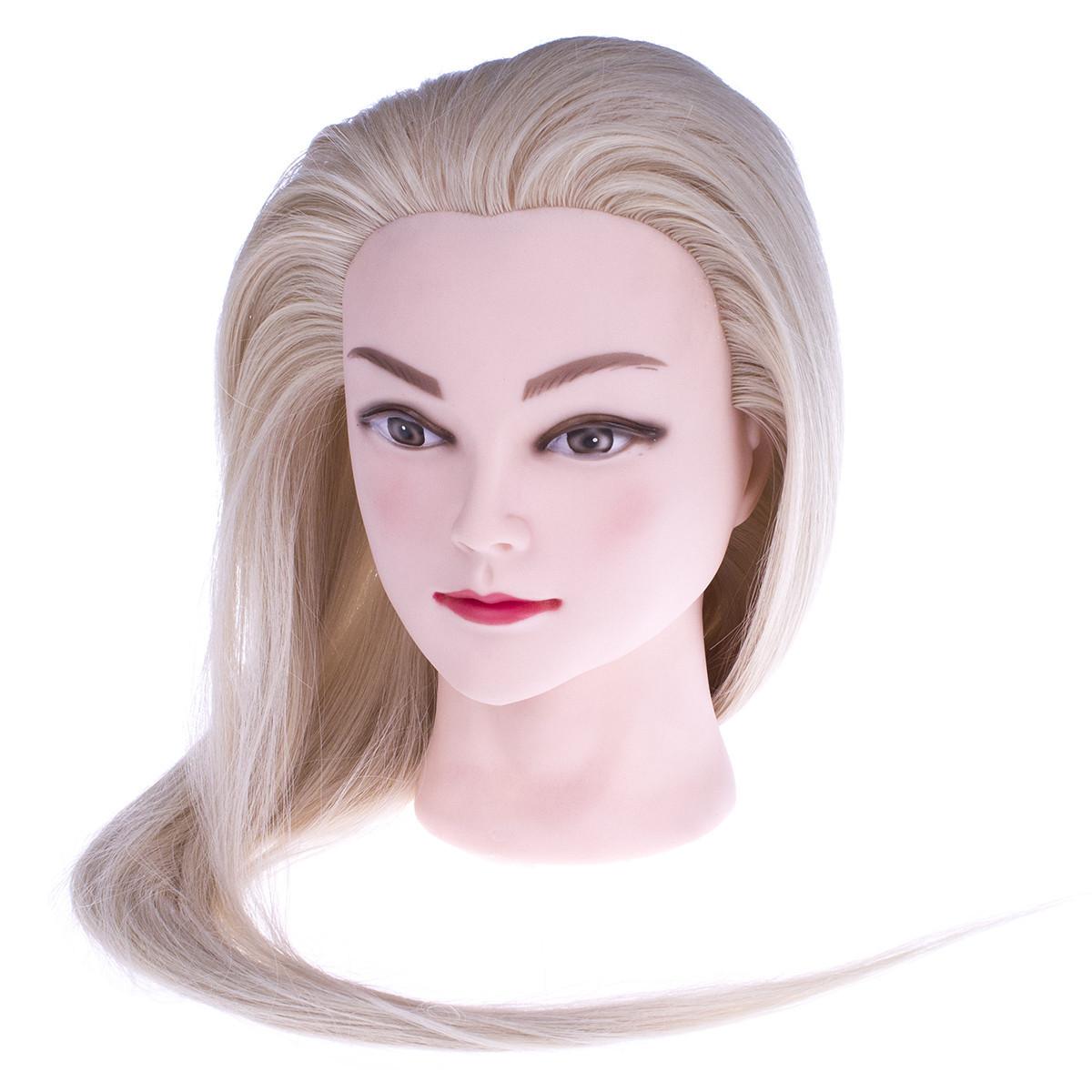 Голова учебная (искусственный волос) блонд