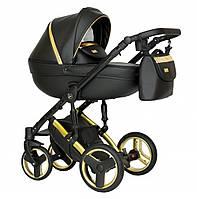 Детская коляска универсальная 2 в 1 Verdi Mirage Eco Premium gold II (Верди Мираж, Польша)