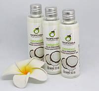 Натуральное тайское кокосовое масло первого отжима Tropicana, 50мл