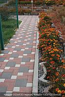 Тротуарная плитка Квадрат 200х200 - черный, фото 1