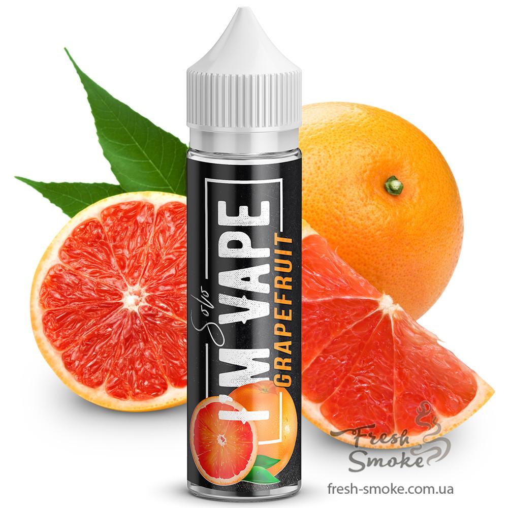 Жидкость (заправка) для электронных сигарет/вейпа I'm Vape Solo Grapefruit 60 мл (Грейпфрут)