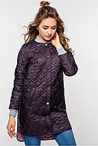 Женская стильная весенняя куртка Торри р.42-48, фото 2
