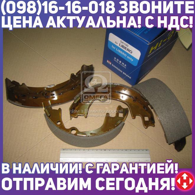 ⭐⭐⭐⭐⭐ Колодки тормозные барабанные HYUNDAI H-1 2.4, 2.5 99- задние (пр-во SANGSIN) SA100