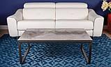 Стол журнальный BRIGHTON S (90х90х45 см) керамика светло-серый глянец Nicolas (бесплатная доставка), фото 7