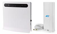 Стационарный 4G Wi-Fi роутер Huawei B593s-12 + Антенна 4G LTE MIMO 700-2600 мГц 8,8 dBi, фото 1