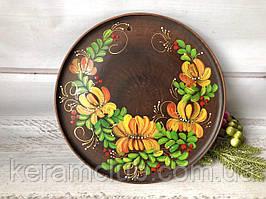 Настенное панно с ручной росписью Лилэя