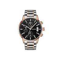 Часы Guanqin Gold-Black-SilverGold GS19093 CS