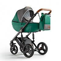 Детская коляска универсальная 2 в 1 Verdi Orion 04 Dark green (Верди, Польша)