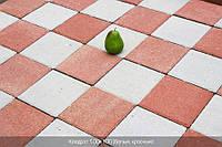 Тротуарная плитка Квадрат 200х200 - белый