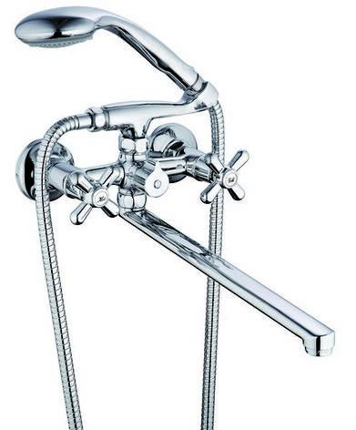 Смеситель для ванны ZEGOR DST, фото 2