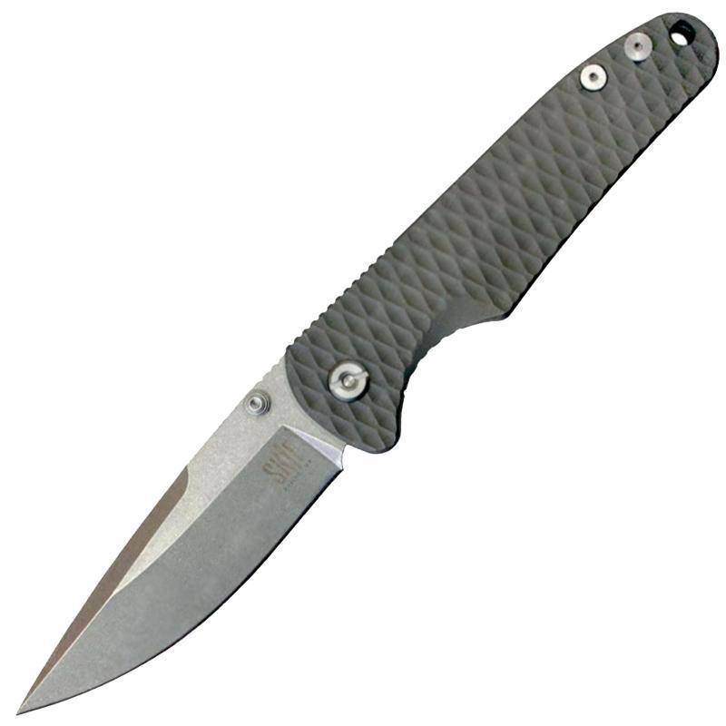 Нож складной SKIF T-02 CPM-D2 ( титан )