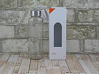 Стеклянная бутылка для воды 400 мл ( бутылка стекло )