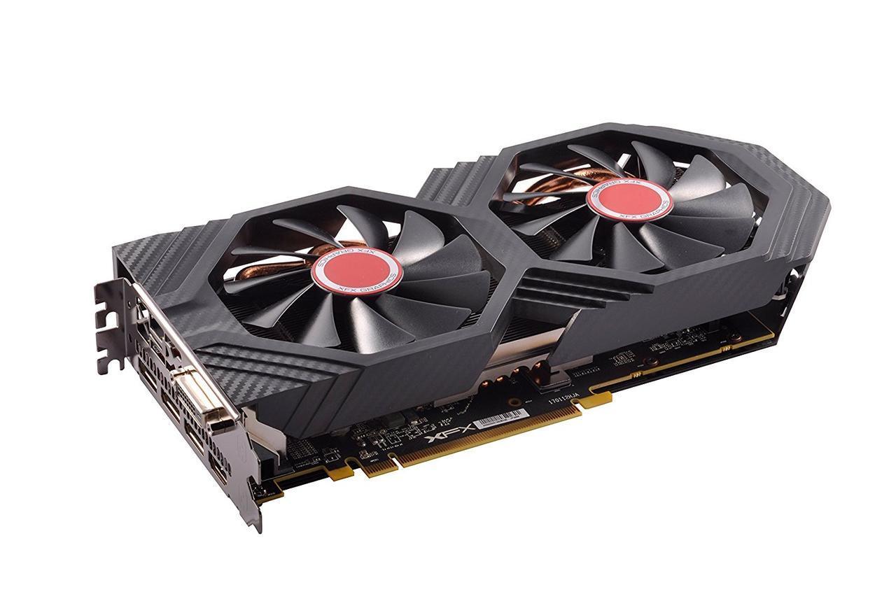 Видеокарта XFX GTS Radeon RX 580 8GB Black Ed (RX-580P8DBD6)