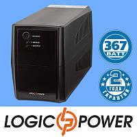 Источник бесперебойного питания ИБП, UPS LogicPower LPM-525VA-P (367 Вт) - Гарантия 2 года
