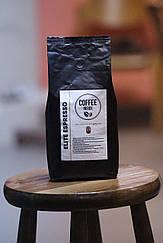 """Кофе в зернах """"Elite espresso"""" 50% арабики / 50% робусты 1 кг"""