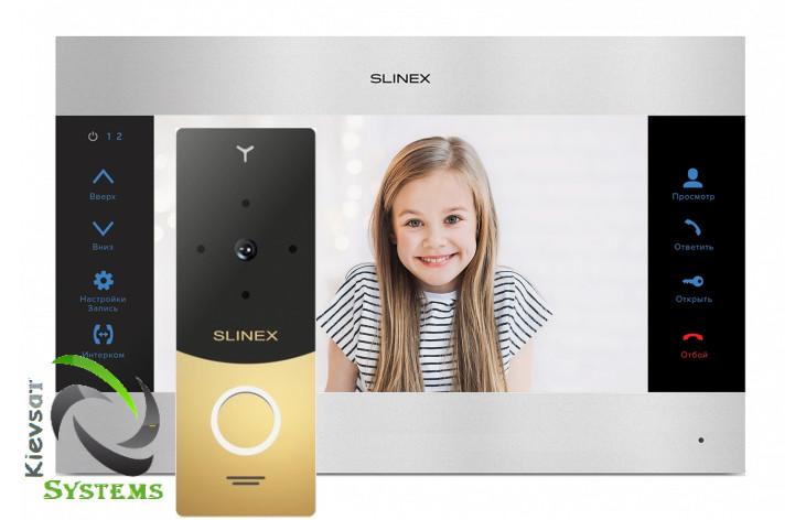Видеодомофон Slinex SL-10M | Вызывная панель Slinex ML-20HR