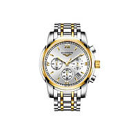 Часы Guanqin Gold-White-SilverGold GS19018 CS