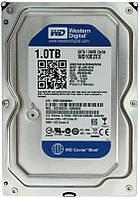 Накопитель HDD SATA 1.0TB WD Blue 7200rpm 64MB (WD10EZEX) Refurbished