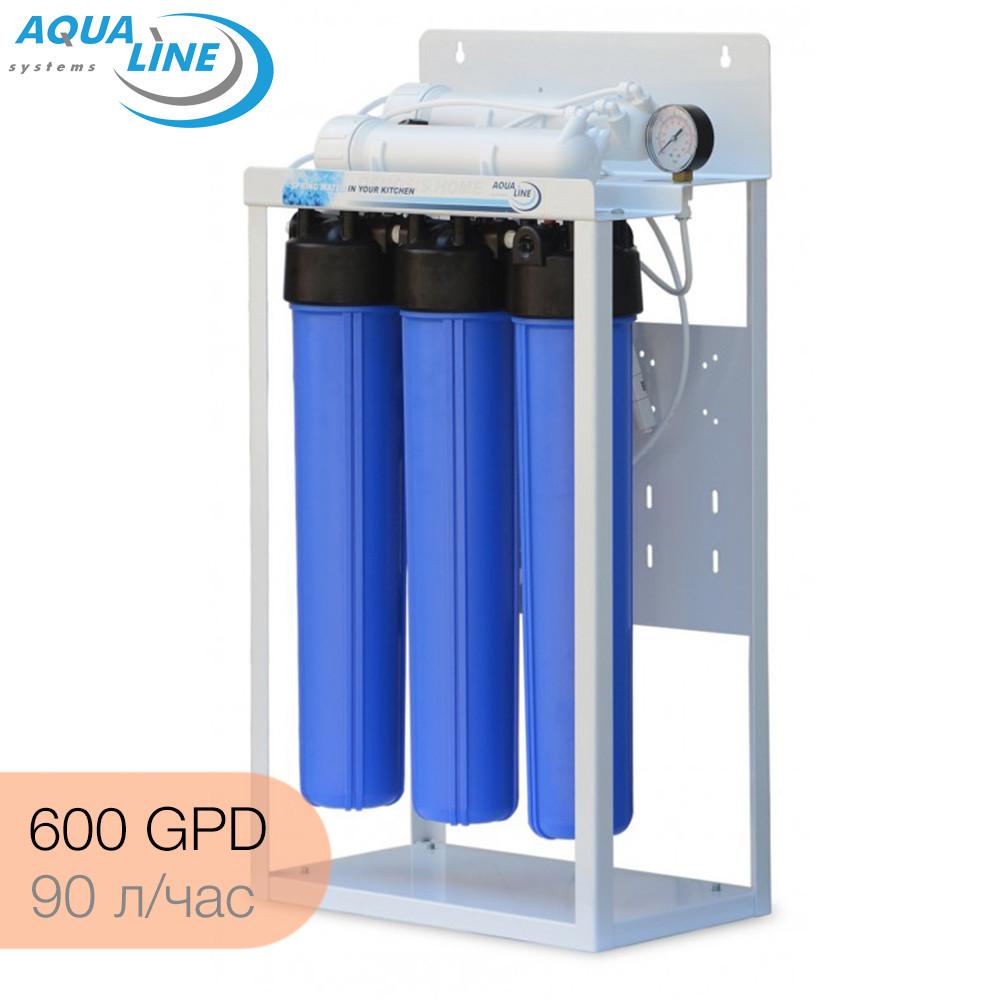 Система обратного осмоса Aqualine RO-600 (90 литров/час)