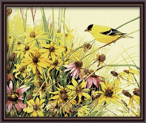 Набор для рисования MENGLEI Птица певчая