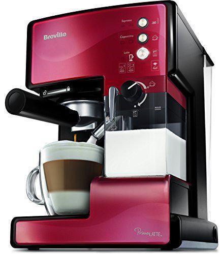 Рожковая кофеварка эспрессо Breville PrimaLatte VCF046X