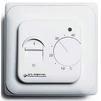 Терморегулятор IN-THERM механический для теплого пола RTC 70 диапазон +5-40°С - 3 ГОДА ГАРАНТИЯ!