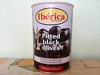 """Маслины без косточки, крупные (Испания """"Iberica"""", ж/б, 420 гр.)"""