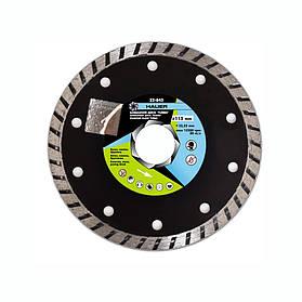 "Алмазный диск ""TURBO"", ø115 мм, Hauer (22-845) шт."
