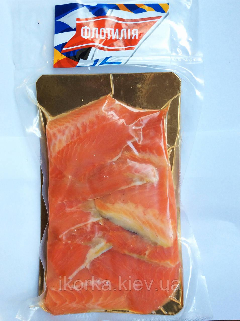 Кусочки лосося 0,5 кг (хвосты)