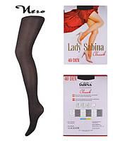 Колготки капроновые женские  ТМ Lady Sabina 40 den Nero размер 2, фото 1