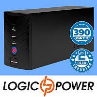 Источник бесперебойного питания ИБП, UPS LogicPower LP 650VA (390 Вт) - Гарантия 2 года