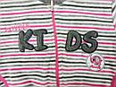 Костюм велюровый для девочки Lovely KİDS серый в полосочку (р. 74-104 см)(Nicol, Польша), фото 4