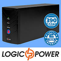 Источник бесперебойного питания ИБП, UPS LogicPower LP U650VA (390 Вт) - Гарантия 2 года